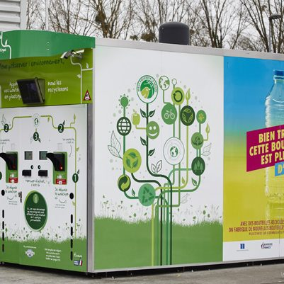 Les machines de collecte Ecobox